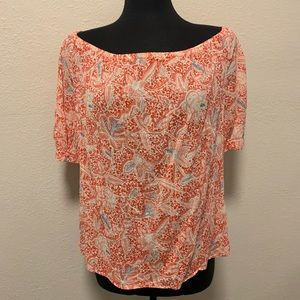 Tory Burch Peasant Blouse